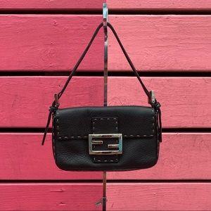 Fendi Leather Selleria Mini Bag